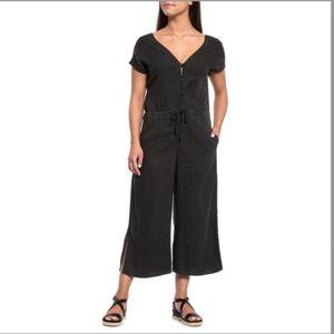 NWOT Cloth &Stone Night Shade Double V Jumpsuit M